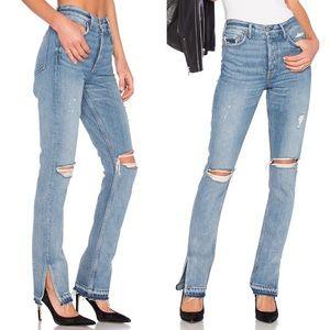 GRLFRND • Natalia High Rise Skinny Jeans